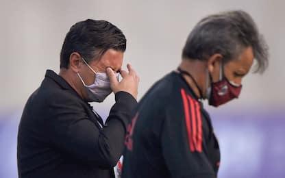 River, 10 giocatori positivi al Covid: niente Boca