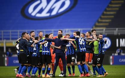 Squadre meno battute, Inter prima in Europa