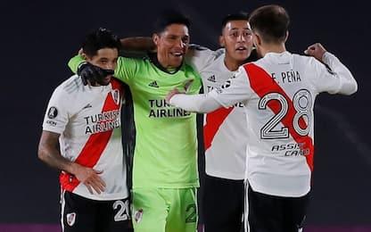 Storico River Plate, vince con un mediano in porta