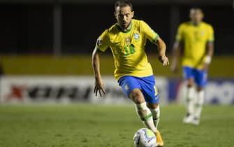 Éverton Ribeiro of Brazil during the World Cup qualifiying round match to Qatar 2022, date 3, between Brazil and Venezuela played at Morumbi Stadium in Morumbi, Brazil on 14 September 2020. (Photo: DiaEsportivo/PRESSINPHOTO)