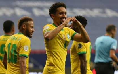 Brasile-Venezuela 1-0 LIVE: sblocca Marquinhos