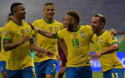 Brasile, buona la prima: 3-0 al Venezuela