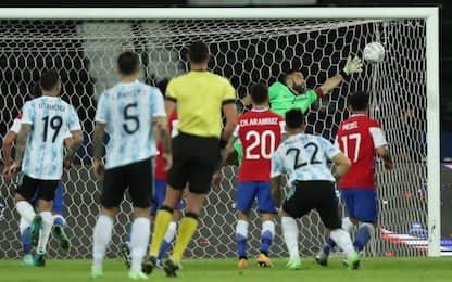 Argentina-Cile 1-0 LIVE: capolavoro di Messi