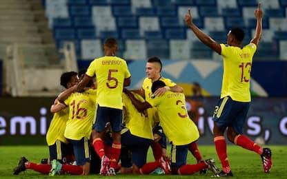 Colombia, esordio vincente: 1-0 all'Ecuador
