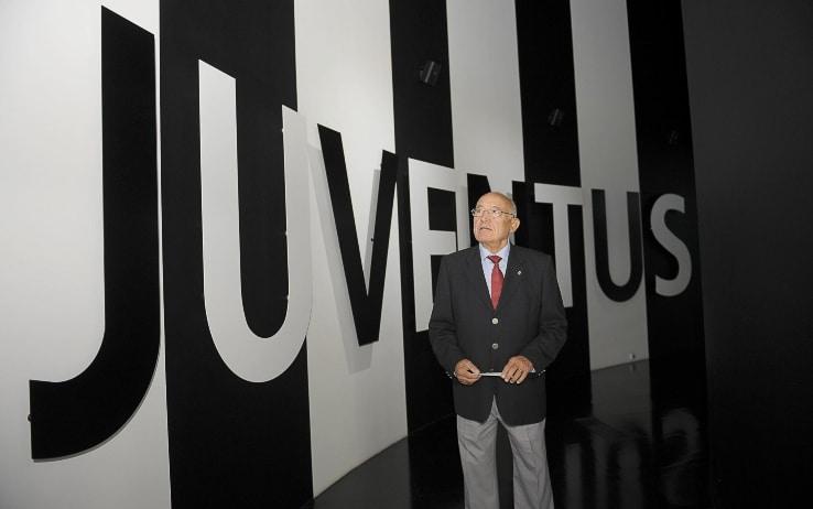 Luis Del Sol in visita allo Juventus Museum nel 2014