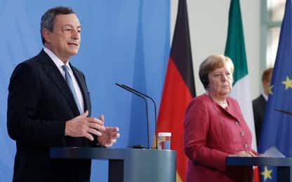 """Draghi: """"No a finale dove contagi crescono"""""""