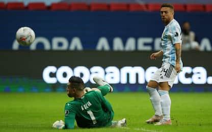Argentina e Cile si qualificano ai quarti