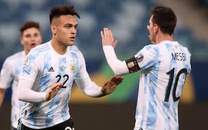 Argentina, 4-1 alla Bolivia e 1° posto. Uruguay 2°