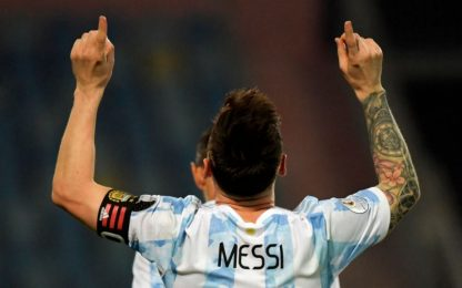 Messi show, Argentina in semifinale