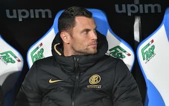 daniele padelli (inter) during Italian Serie A Soccer season 2019/20, italian Serie A soccer match in italy, Italy, January 01 2020