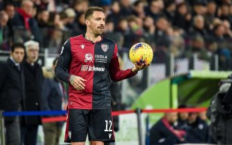 fabrizio cacciatore of cagliari calcio during Italian soccer Serie A season 2019/20, italian Serie A soccer match in cagliari, Italy, January 01 2020