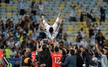 """Messi in trionfo, spezzata la maledizione """"finale"""""""