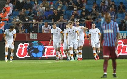 Buona la prima per Mou: Trabzonspor-Roma 1-2