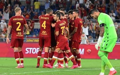 Roma ai gironi di Conference, Trabzonspor ko 3-0