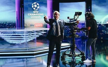 Antonio Conte special guest di Sky Sport