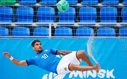 Euro beach soccer al via, l'Italia su Sky