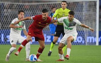 Roma vs Sassuolo - Serie A 2021/2022