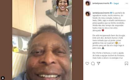 Pelé sta meglio: lascia la terapia intensiva