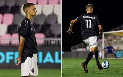 Un nuovo Beckham in campo: negli Usa debutta Romeo