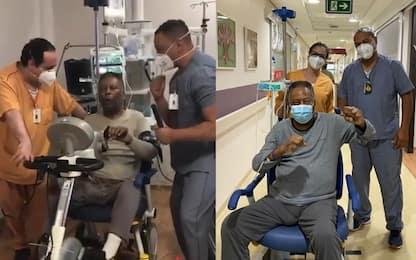 """La riabilitazione di Pelé: """"Tornerò al Santos"""""""