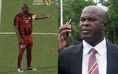 Il vicepresidente del Suriname in campo a 60 anni