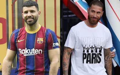 Aguero, Ramos e non solo: i big ancora a 0 minuti