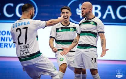 Futsal, Petrarca sola in vetta. Su Sky Pescara-L84
