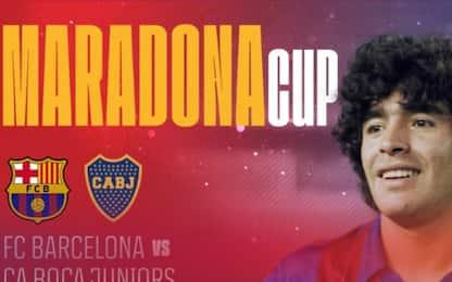 Maradona Cup, Barça e Boca si sfidano in Arabia