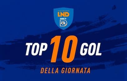 Serie D, i 10 gol più belli del weekend. VIDEO