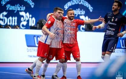 Futsal, al via la Champions League. Pesaro su Sky