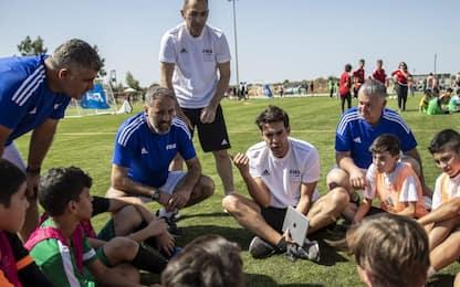Calcio e istruzione: progetto Fifa in Libano. FOTO