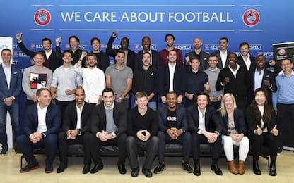Grandi ex in aula: quanti campioni al corso Uefa