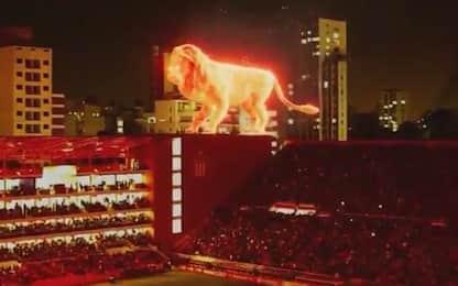 Nuovo stadio Estudiantes, c'è un leone sul tetto