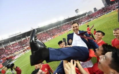 Cannavaro conquista la Cina: Guangzhou campione