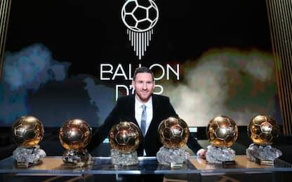 Il Pallone d'Oro 2019 a Messi: è il sesto trionfo