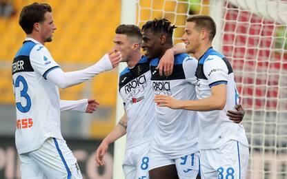 Atalanta da record, è 3^ in Europa per gol fatti