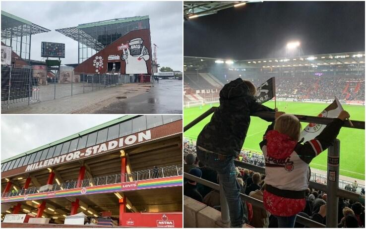Lo stadio del St Pauli: il Millerntor