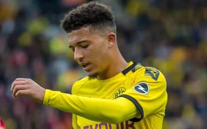 Motivi disciplinari, Dortmund non convoca Sancho