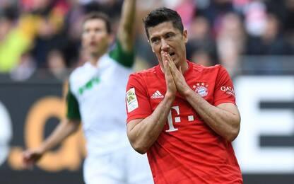 Il Bayern rallenta ancora, 9 squadre in 2 punti