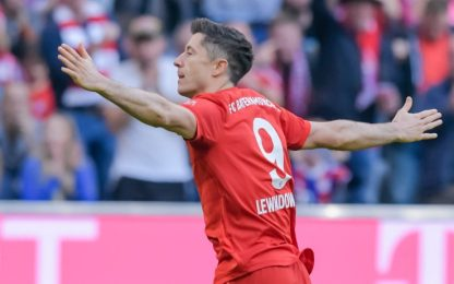Bundesliga: Bayern in testa, pari per il Dortmund