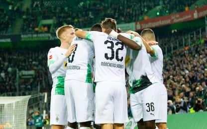 Bundesliga, Gladbach capolista soilitario