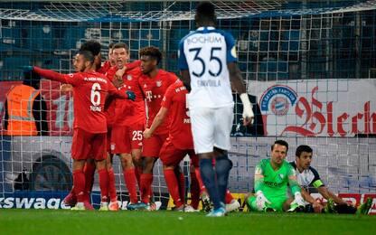 Bayern Monaco e Bayer avanti di misura in Coppa