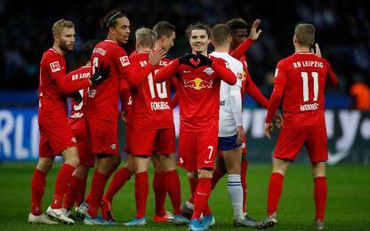 Lipsia, l'allenamento in stile FIFA