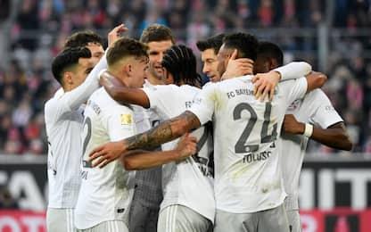 Poker Bayern, Borussia ko: bavaresi a -1