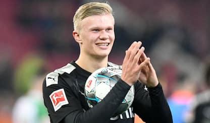 Haaland si presenta al Borussia: subito tripletta!