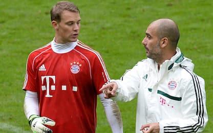 """Pazza idea Guardiola: """"Voleva Neuer a centrocampo"""""""