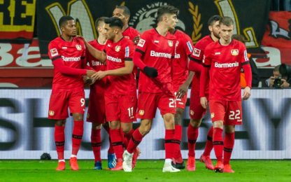 Bundesliga, Leverkusen ribalta Dortmund: risultati