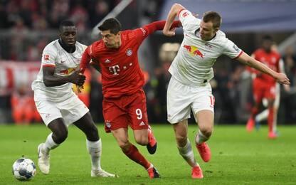 Bayern e Lipsia sprecano: il big match finisce 0-0