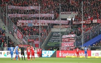 Hoffenhem insultato, Bayern contro i propri tifosi