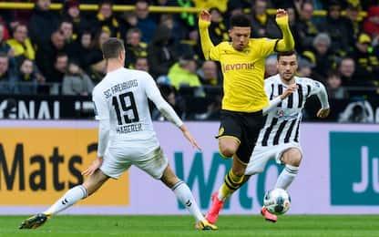 BVB spiega distanziamento con dribbling di Sancho